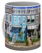 Row Houses In Washington D.c. Coffee Mug
