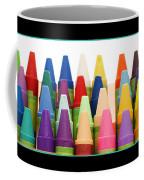 Rows Of Crayons Coffee Mug