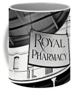 Royal Pharmacy - Bw Coffee Mug
