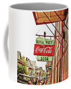 Royal Pharmacy Soda Sign Coffee Mug