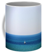 2 Sailboats In The Distance Coffee Mug