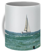 Sailing In California Coffee Mug