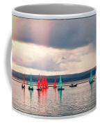 Sailing On Marine Lake A Reflection Coffee Mug