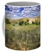 Sand Dunes In Manitoba Coffee Mug by Elena Elisseeva