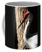 Sandhill Crane Portrait Coffee Mug
