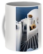 Santorini Steps Coffee Mug