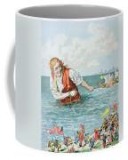 Scene From Gullivers Travels Coffee Mug