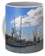 Shrimp Boats On Shem Creek Coffee Mug