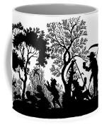 Silhouette Daily Life Coffee Mug