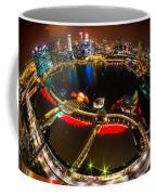 Singapore City Skyline Coffee Mug