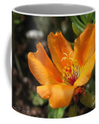 Single Portulaca Coffee Mug