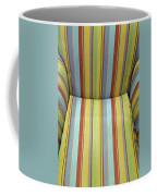Sitting On Stripes Coffee Mug