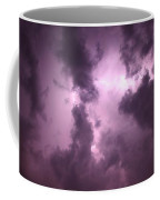 Small But Eruptive Cell North Of Kearney Coffee Mug