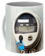 Smart Grid Residential Digital Power Supply Meter Coffee Mug