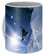 Snowboarding In Lake Tahoe Coffee Mug