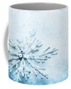 Snowflake In Snow Coffee Mug