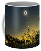 Solar Eclipse Composite, Queensland Coffee Mug by Philip Hart
