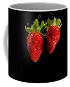 Splash Strawberry Coffee Mug