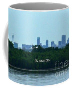 St Louis From Chain Of Rocks Bridge Coffee Mug