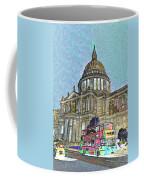 St Paul's Cathedral London Art Coffee Mug