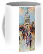 St Paul's From The Millennium Bridge Coffee Mug