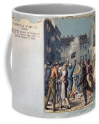 Stamp Act Riot, 1765 Coffee Mug