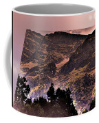Starry Night Landscape Coffee Mug