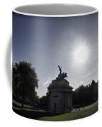 Statue Of Angel Of Peace Atop The Wellington Arch Coffee Mug