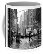 Stay Merry - Christmas Is Coming - Holiday And Christmas Card Coffee Mug
