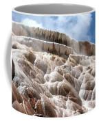 Steamy Mammoth Hot Springs Coffee Mug