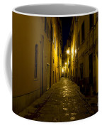 Street Alley By Night Coffee Mug