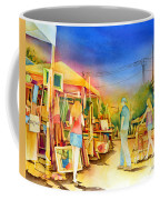 Street Art Fair Coffee Mug