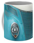 Street Car  Blue Grill With Headlight Coffee Mug
