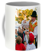 Street Performer Coffee Mug