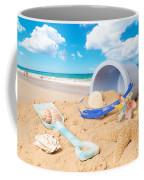 Summer Beach Coffee Mug