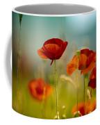 Summer Poppy Coffee Mug