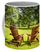 Summer Relaxing Coffee Mug by Elena Elisseeva