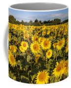 Sunflowers At Dawn Coffee Mug