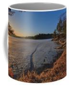 Sunrise On Millsite Lake Coffee Mug