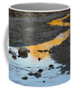 Sunset Reflected In Stream, Arizona Coffee Mug