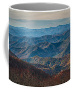 Sunset View Over Blue Ridge Mountains Coffee Mug