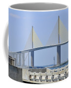 Sunshine Skyway Bridge I Tampa Bay Florida Usa Coffee Mug