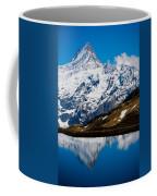 Swiss Alps - Schreckhorn Reflection Coffee Mug