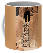 Talus House Front Door Bandelier National Monument Coffee Mug