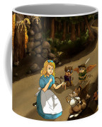 Tammy Meets Cedric The Mongoose Coffee Mug