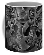 Tapestry Of Gods - Tlaloc Coffee Mug