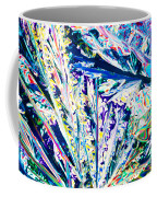 Tartaric Acid Crystals In Polarized Light Coffee Mug