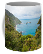 Tasman Sea At West Coast Of South Island Of New Zealand Coffee Mug