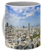 Tel Aviv Israel Elevated View Coffee Mug