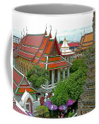 Temple Of The Dawn-wat Arun In Bangkok-thailand Coffee Mug